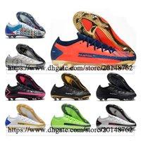 Подарочная сумка Мужские Высокие Топы Футбольные Ботинки Phantom GT Elite FG Клеиты Открытый Технологический Ремесло 3D Scorpion Футбольная обувь