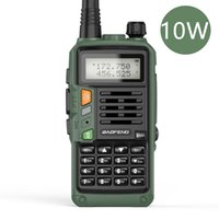 Walkie Talkie BaoFeng 10W High Power UV-S9 Plus Support USB Charger 50KM Dual Band Amateur Ham Handheld UV-5R 888S Two Way Radio
