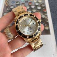 Automatic Guarda gli uomini Sapphire Famous Designer Diamante Diamante Diamante Diamante Polsino luminoso di alta qualità generoso orologio di lusso di alta qualità