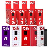 Cake Delta 8 Gummies Jetables E Cigarettes Dispositif 1.0ml vide Cartouche d'huile épais épaisse rechargeable 280mAh Batterie Vape Pen