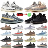 2020 ayakkabı New Arrivals Stock x 3M Running Shoes for Mens Womens Luxury Designer Sneakers israfil Tail Light Earth Linen Static Trainers Size 13
