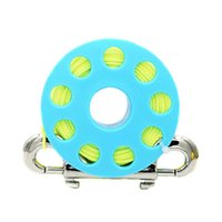 Pool & Accessories 30m Scuba Diving Lightweight With Bolt Snap Underwater Fishing Snorkeling Guide Line Reel Portable Finger Spool
