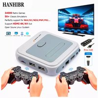 Retro Mini TV Video Game Console Controller For PS1 N64 DC with 50 Emulators with 41000 Games Support HDMI Out With Wireless Gamepad
