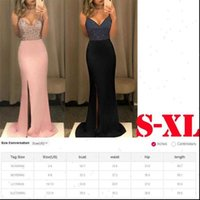 Prom Gown Dress Dresses Selling Sexy Women Elegant Floor length Formal Wedding Party Sequined Patchwork Bridesmaid Long Slip Womens