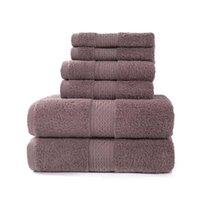 수건 럭셔리 욕조 세트, 2 개의 큰 수건, 2 손 수건. EL 품질 부드러운 코 튼 매우 흡수성 욕실 수건
