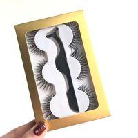 Visofree Eyelashes 3D Mink Crossing Lashes Hand Made Full Strip Eye 35 Styles Cilios Naturais False