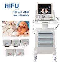 2021 휴대용 HIFU 기계 HIFUS 슬리밍 얼굴 및 바디 뷰티 하이 푸 리포소니닉스 기계 비 침습적 인 노화 장비