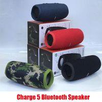 Carica 5 Carica altoparlante Bluetooth5 Mini altoparlanti per subwoofer per esterni wireless portatili Subwoofer Subwoofer TF USB