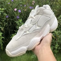 2021 Hommes Femmes 500 Desert Rat Kanye Sports Sports Chaussures de course Sel Blush Blanc Super Moon Utilitaire jaune Black Yakuda Formation Sneakers Boot Pk Qualité