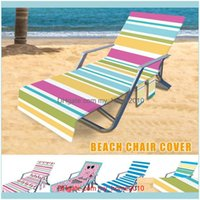 Inflatable Swimming Water Sports Outdoorsinflatable Floats & Tubes Microfiber Beach Towel Er Lounge Chair With Side Pocket Fast Drying For P