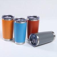 Coupe d'acier inoxydable de 20oz Tasse d'acier en acier inoxydable Tasse d'eau isolée de voiture de voiture portable COKE COUPE COUPES EEA2303