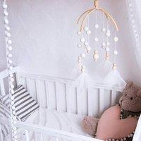 장식 물체 인형 아기 모바일 공 침대 벨 침대 쥬얼리 크리 에이 티브 펜던트 장난감 나무 바람 차임 칠레 류 어린이 침실 간호사
