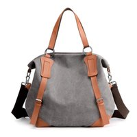Evening Bags Canvas Bag Lady Cross-slung Large Capacity Korean Version Single-shoulder Female Travel
