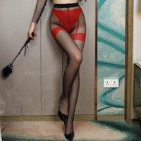 5 Renkler Açık Kasık Tayt Kadın Erotik Crotchless Külotlu Çorap Kadın Porno Lingerie Medias Seksi Kostümleri # J7