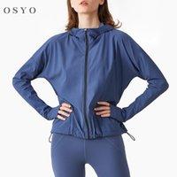 2021 NUOVO Blocco personalizzato Zipper con cappuccio Workout Abiti Donna Casual Versione allentata in esecuzione fitness yoga usura jersey di calcio
