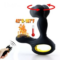 Umania Control remoto inalámbrico Masaje Prostate Massager Silicona Anal Vibrador 10 Velocidad Butt Thip Toys Sex Toys Para Masturbator X0602