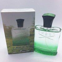 파티 용품 골드 그린 믿음 원래 VETIVER Golden Edition 크리드 바이킹 향수 Aventus Millesime Imperial Fragrance Cologne Parfum 남성용 여성용 여성용 스프레이