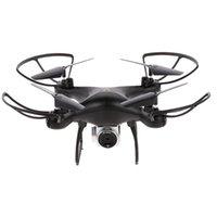Utoghter 69601 2.4g 6 axes gyro rc drone avec caméra quadricoptère altitude maintenez 3D bascule selfie selfie quad hélicoptère drones
