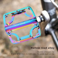 Bike Pedals Mountain Road Color Pedal 3 Bearing Aluminum Alloy High Strength And Durable Non-slip Ultra Light Bicycle