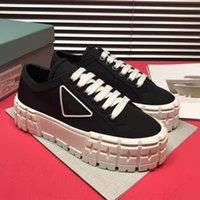 Atacado Top Designer Luxo Plataforma Sapatos de Dança 9 Cores, Clássico Puro Branco e Preto Extravagant Ace Sneakers