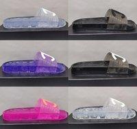 2021 mujeres sandalias zapatillas deslizarse bordado diseñadores diapositivas sandalia floral brocado flip chanclas a rayas playa cuero de goma flor zapatillas deslizadores deslizadores deslizadores con caja
