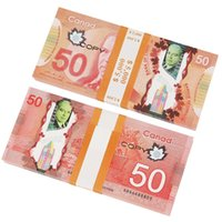 PROP CAD Game Money | 5/10/20/50/100 | Canadian Dollar Canada Banknotes Fake Notes Right