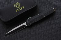 Hohe Qualität Vespa-Version Klappmesser Klinge: M390 (Stonewash) Griff: 7075Aluminium + TC4, Outdoor Camping Survival Messer EDC-Werkzeuge