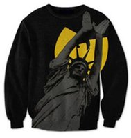 Arrivals 3D Statue Of Women Hoodies Crewneck Fashion Clothing Outfits Fleece Jumper Jogger The Wu Tang Clan Plus Size