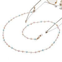 Crystal Beaded Chain for Mask Lanyard Fashion Clear Stone Strap Neck Holder Glasses Chains Eyewear Accessories Gifts