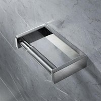 Toilet Paper Holders 304 Type High Quality Steel Towel Rack Easy To Reel Install And The Replace I0B7