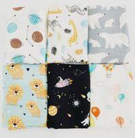 Baby Newborn Bathroom Towels Infant Muslin Blanket Animal Swaddle Robes Infants Swadding 120*120cm OWB7152