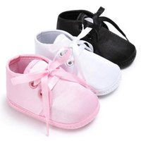 First Walkers Super Confortable Baby Sneaker Shoes Soft Bottom Lace Up Boy Girl Sports Infant Born Walker For