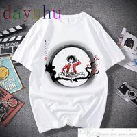 One Piece T рубашка мужчин Harajuku мультфильм 2020 хип-хоп япония аниме футболка 90-х годов смешные луффи Зоро графические моды Tees Malesoccer Jersey