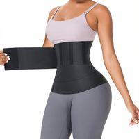 Updated Version Trimmer Belt VS FeelinGirl Waist Trainer for Women Sauna Belts Tummy Wrap 3meter 4meter 5meter 6meter with Opp Bag 100701