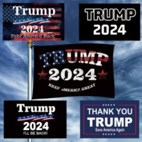 3x5FT Donald Trump 2024 Flag Save America Again Presidential Election Make America Great Again DHL Fast Delivery