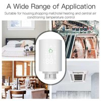 Smart Home Control Radiator Actuator Thermostat Design With Simple And Clear LCD Display Screen Supports App Remote Via Phone