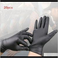 Другие поставки 20100шт. Черные одноразовые постоянные татуировки аксессуары для дома Многофункциональные перчатки MEH1R 39LGO