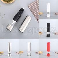 Elektrikli Biber Değirmenleri ABS Paslanmaz Çelik Tuz Değirmeni Muller Baharat Sosu Değirmeni Biber Taşlayıcı Piller Olmadan Mutfak Aletleri CYZ3157