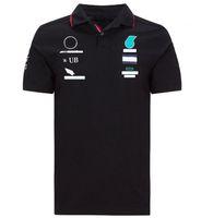 Estate F1 World Formula One Campionato Team Team Polo Jersey T-shirt a maniche corte a maniche corte