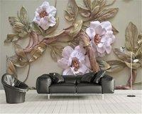 3d behang reliëf bloem boom woonkamer slaapkamer achtergrond keuken decoratie schilderij muurschildering wallpapers muurbedekking