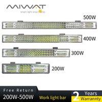 Projecteurs 200W 300W 400W 500W 12V 24V Offroad LED LED Bar de la lumière Spot Pool Combo 20 '' Travail pour JEEP Voiture 4WD Truck SUV VTT