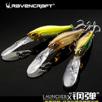 Ravencraft Angeln gehackt fließt tiefes und flaches schwimmendes Wasser Mino Alice-Mund-Bass, Mandarin-Fisch, Seeköderköder 10.06g 210630