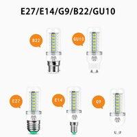 Dayanıklı Mısır Işık LED Ampul SMD5730 E27 GU10 B22 E12 E14 G9 7 9 12 15 18 W 110 220 V 360 Açı Yüksek Tansimittantalce Aydınlatma Ampuller PC Abajur Dekorasyon Aydınlatma Tüpleri Için