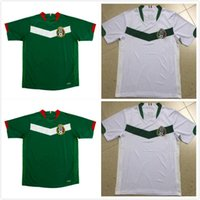 MEXICO 2006 Soccer Jerseys Retro goalkeeper vintage football shirts green home away white black red BLANCO H.SANCHEZ HERNANDEZ top quality