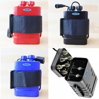 IMR 18650 حزمة البطارية حالة صناديق تخزين للماء 8.4 فولت usb dc شحن 6 * 18650 بطاريات قوة البنك مربع ل led دراجة دراجة ضوء