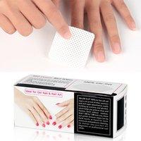 360pcs / Set Désactivant de vernis à ongles sans peluche Coton Wipes UV Gel Conseils Supprimer Nettoyant Papier Pad Nails Art Nettoyage Outils de manucure 1201