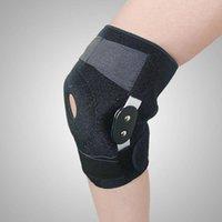 Elbow joelho almofadas ajustável bracket segurança suporte suporte de alumínio liga respirável protetor de perna protetor para esporte rodando ginásio