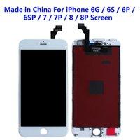 Accesorios de teléfonos Yang para iPhone 6S 7 8 PLUS Los paneles LCD utilizados para reparar la pantalla del teléfono Hecho en China Toque Digitalizador de pantalla Reemplazo de la pantalla Blanco negro