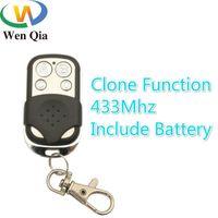 Smart Home Control 433MHz Wireless RF Copia CloneFunction Remoto 4Buttons Trasmettitore con BATTERY per interruttore a LED Lampada a lampadina carelettrica