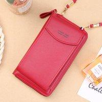 Women Long Wallet Shoulder Bag Female Wallets Clutch Lady Purse Zipper Phone Pocket Card Holder Ladies Carteras